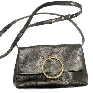 Vince Camuto Ring Leather Crossbody